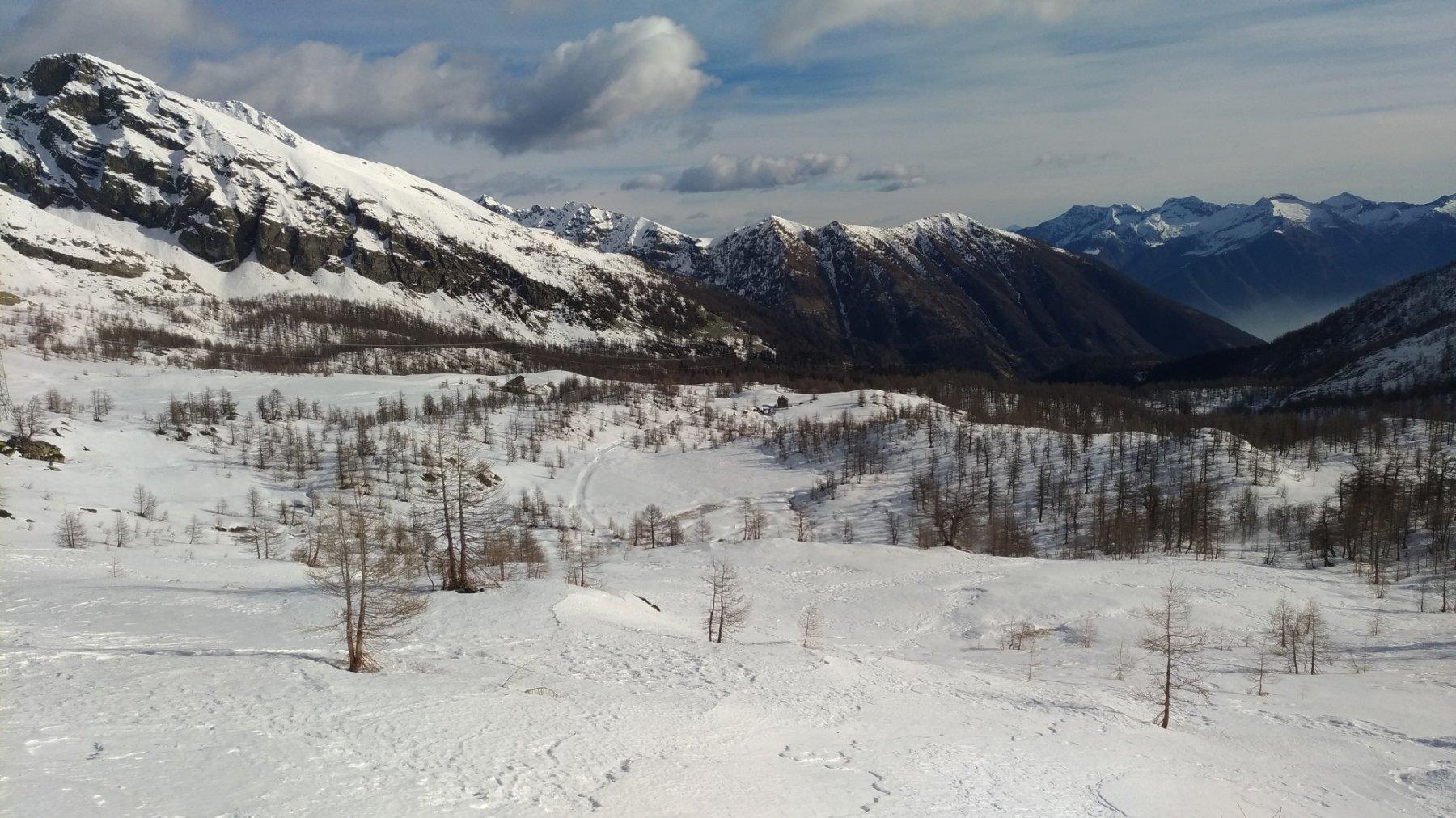 Gli alpeggi alti