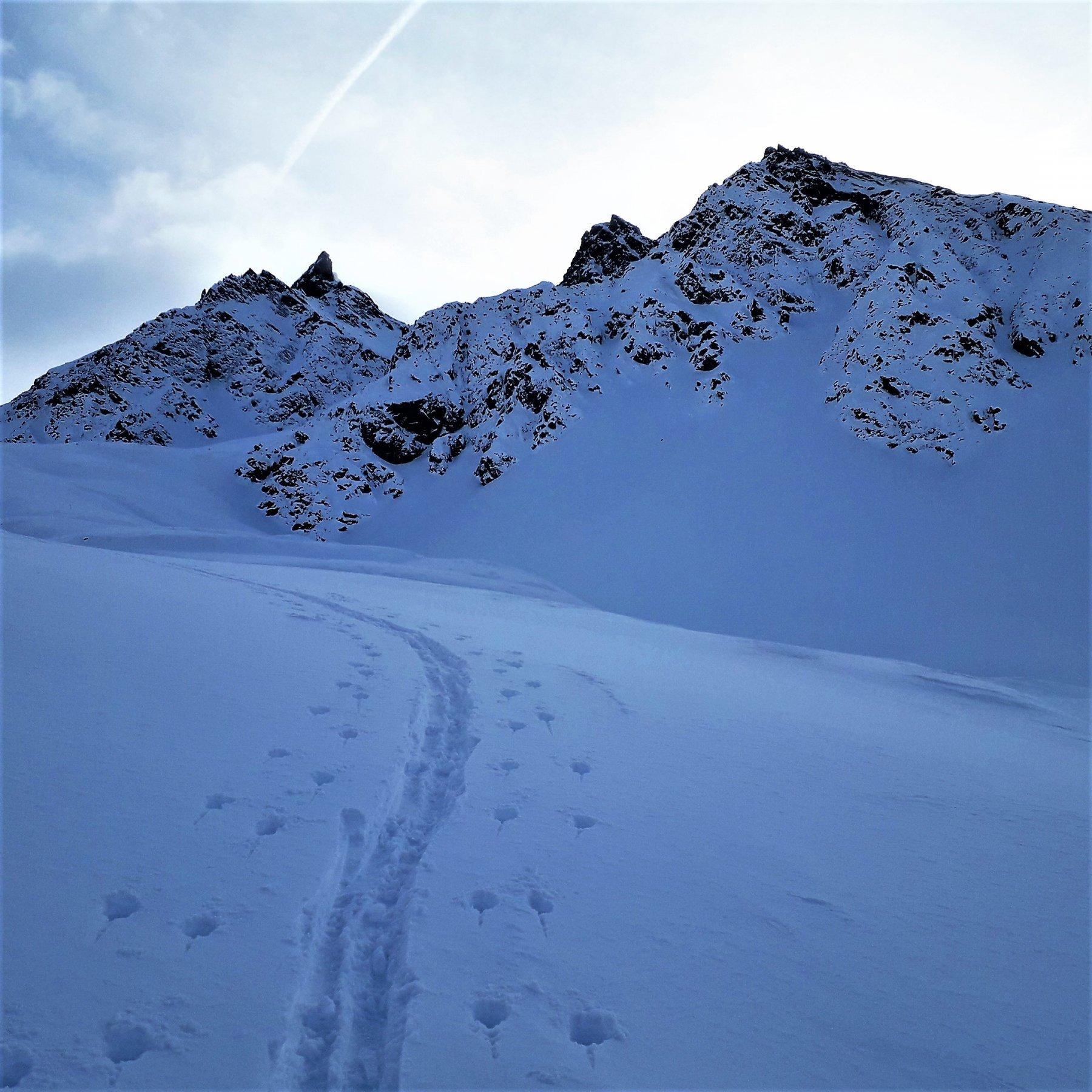 Verso la fine della Val Muragl