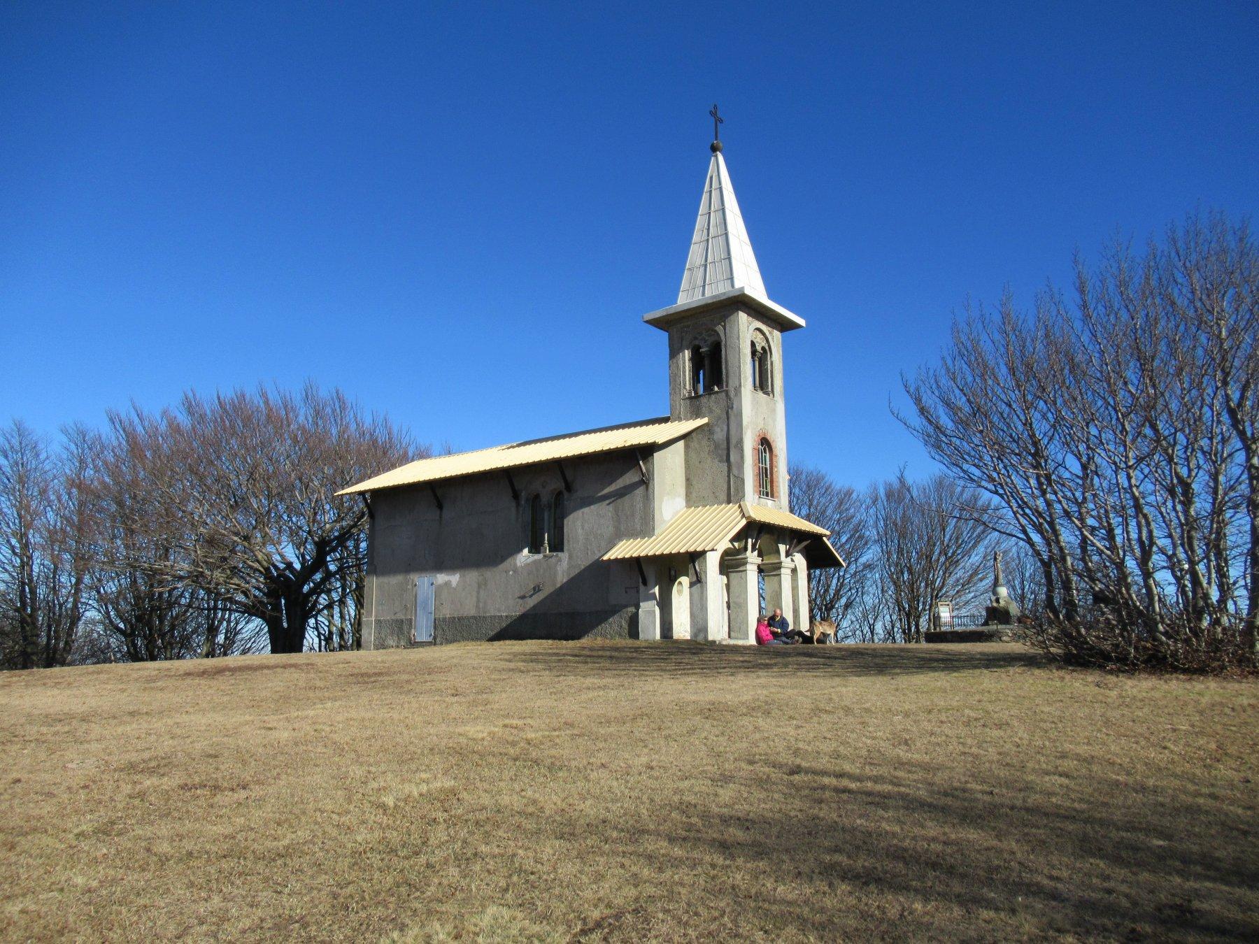 La chiesetta del Beigua.
