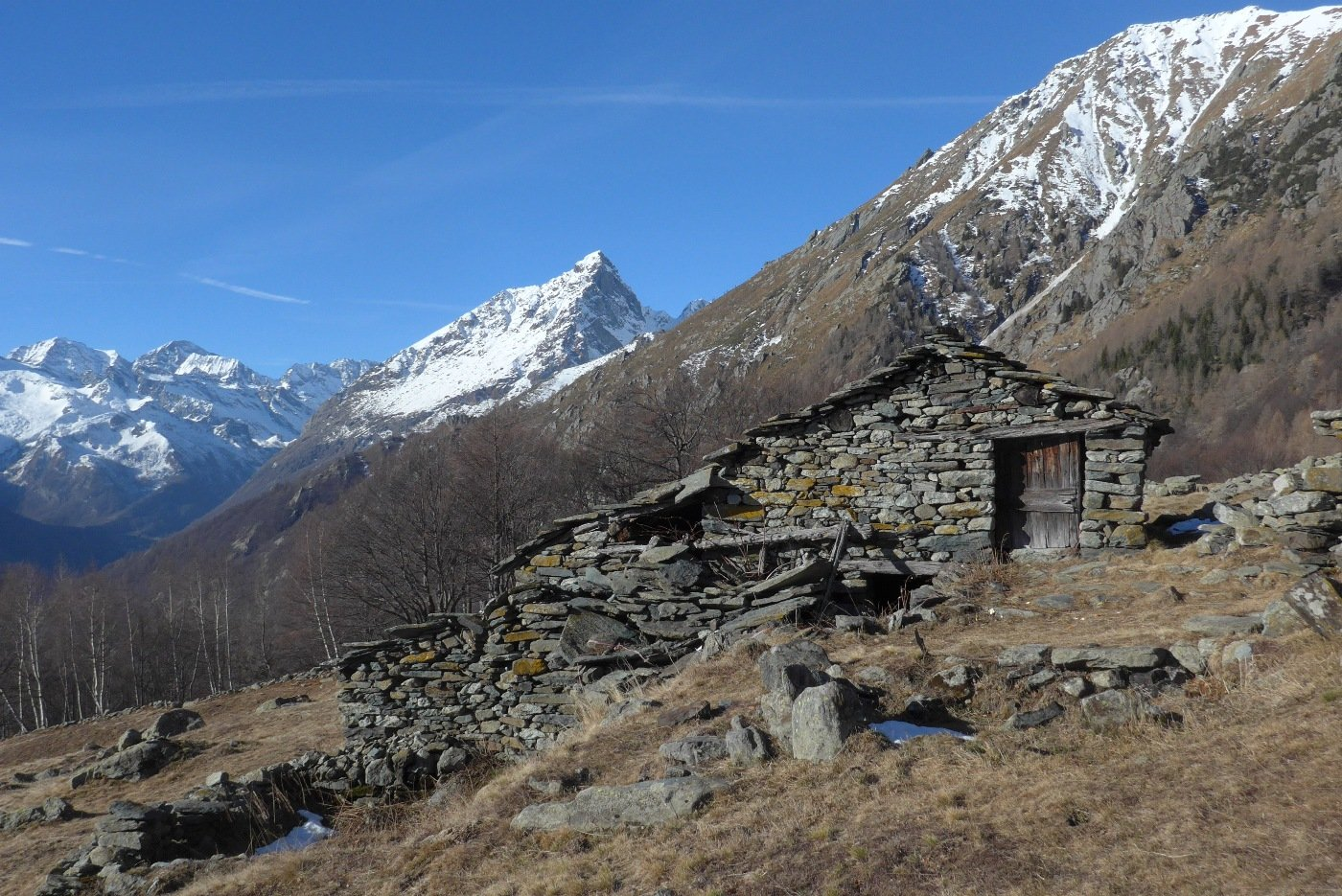 L'Uja di Mondrone dall'Alpe d'Attia