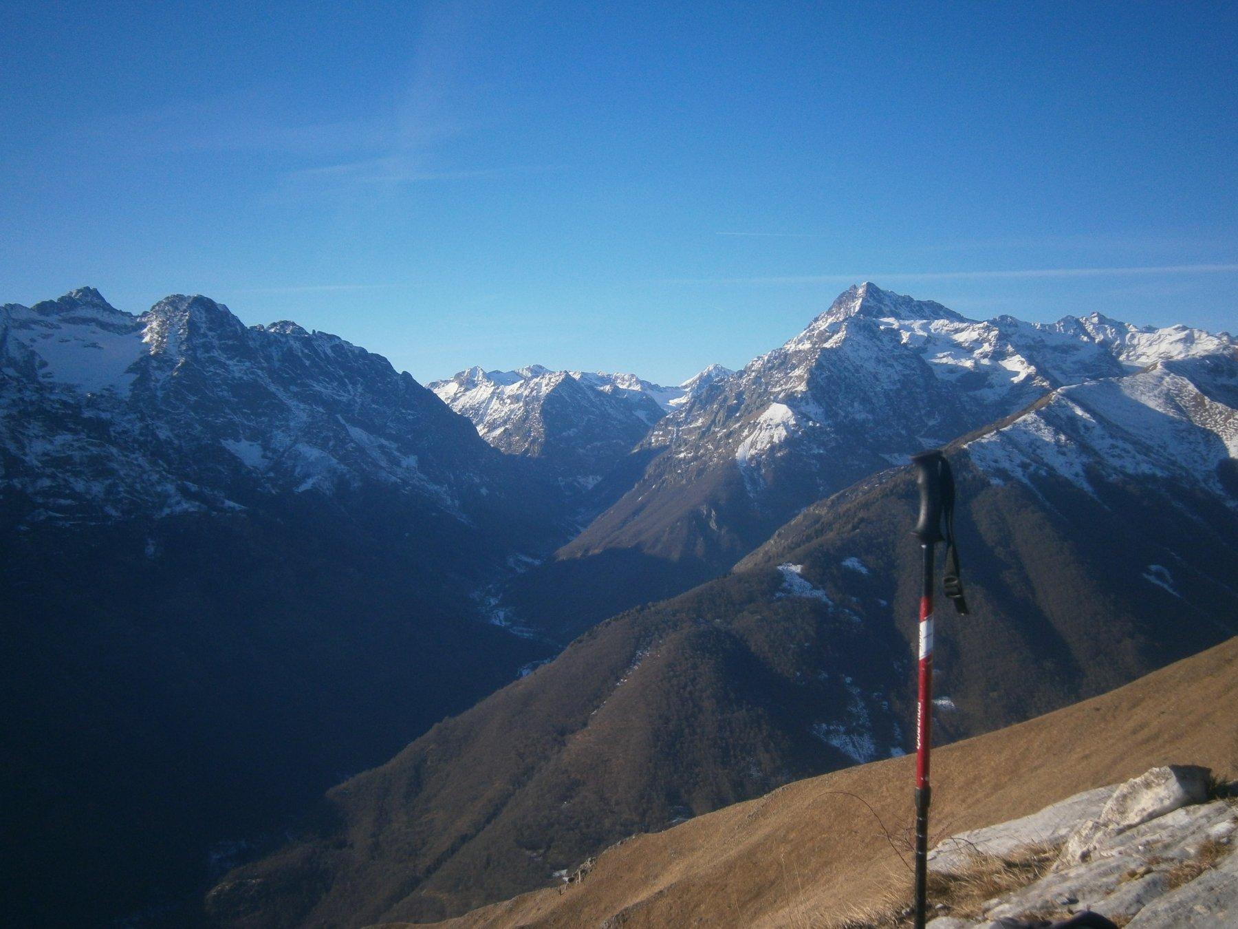 Valle Gesso dalla cima