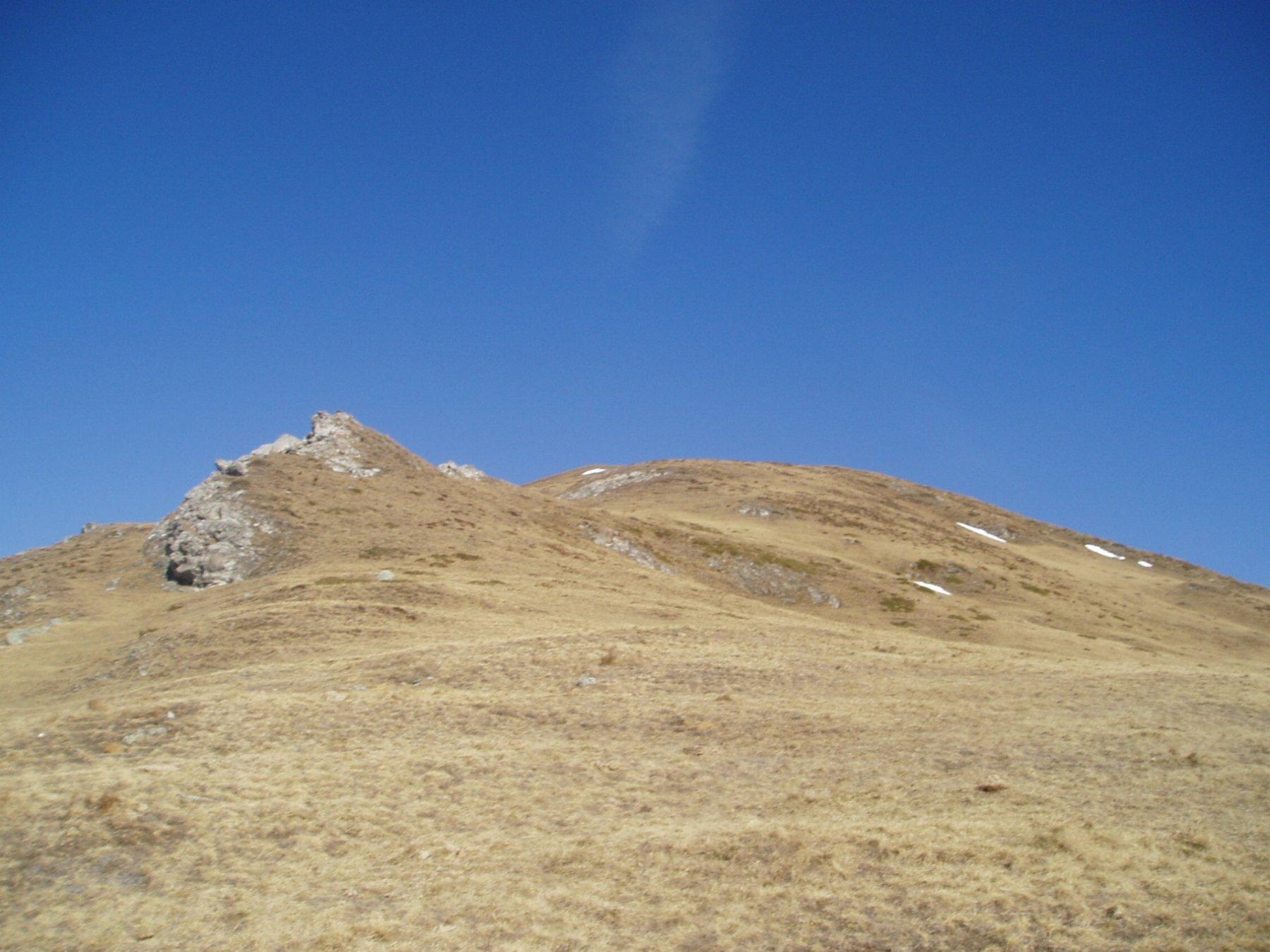 La punta da Alpe Rat.