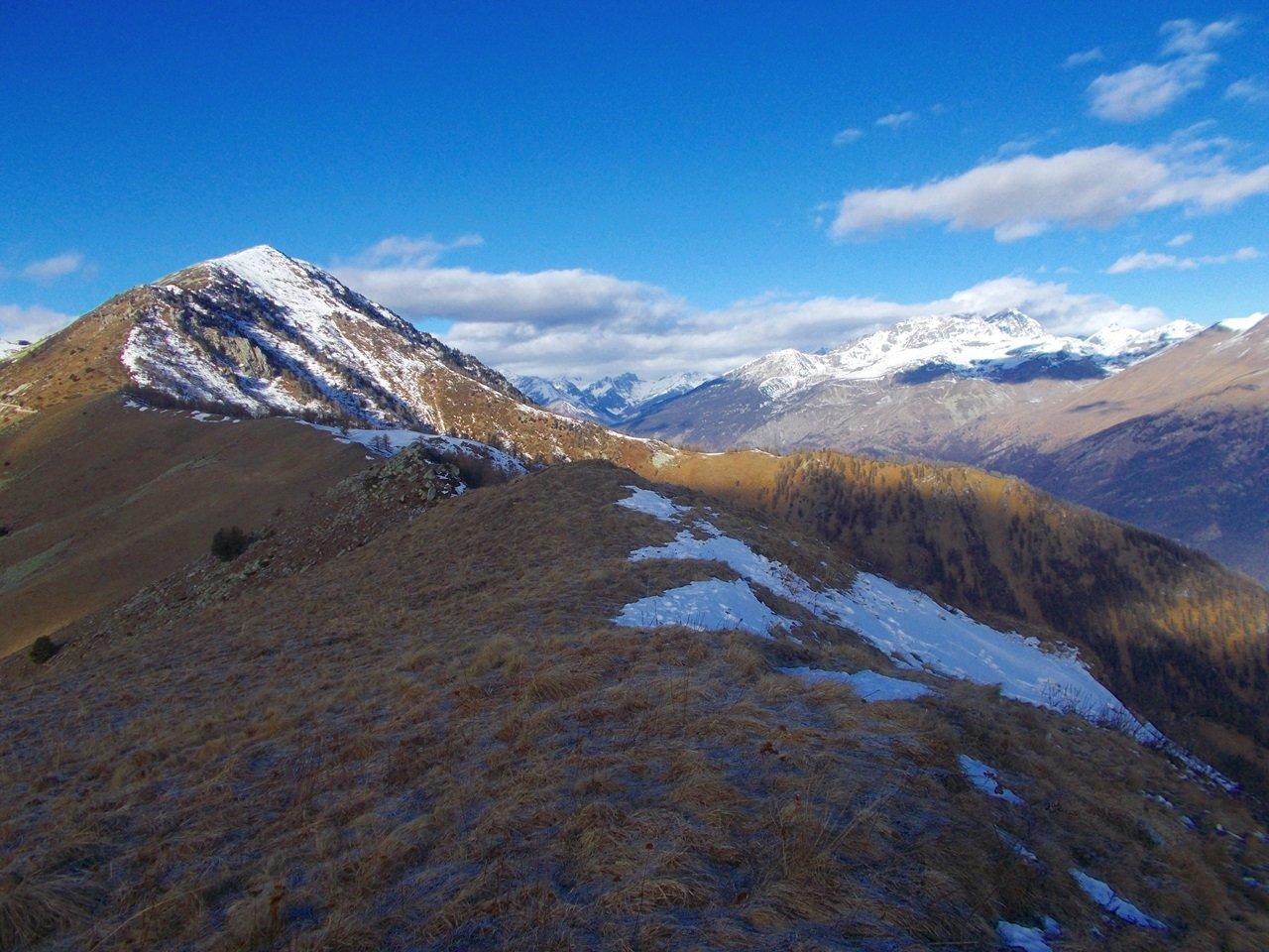 Rastcias ,visto dal Monte Longia