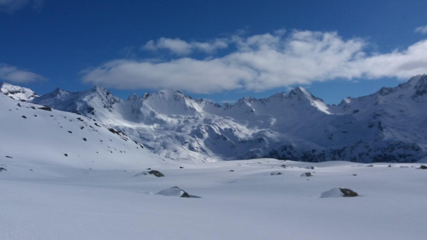 Panorama al top sulla Valgrisanche
