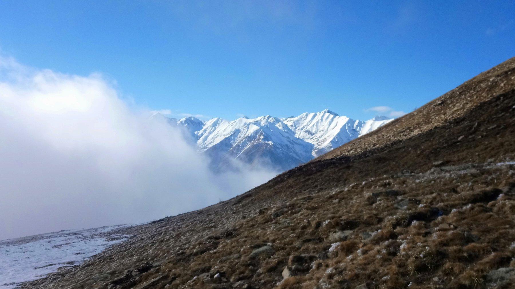Quota 2100 - Panorama in direzione del Bric Ghinvert