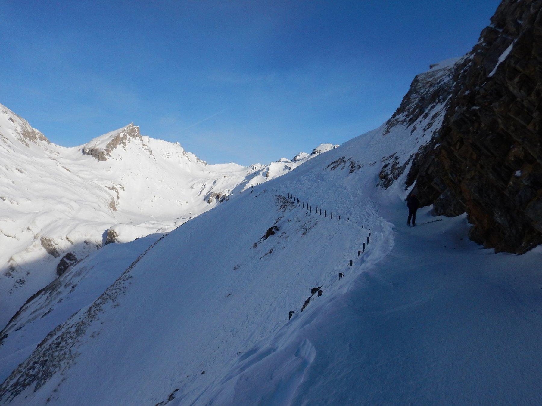 il traverso sopra l'alpe rantin
