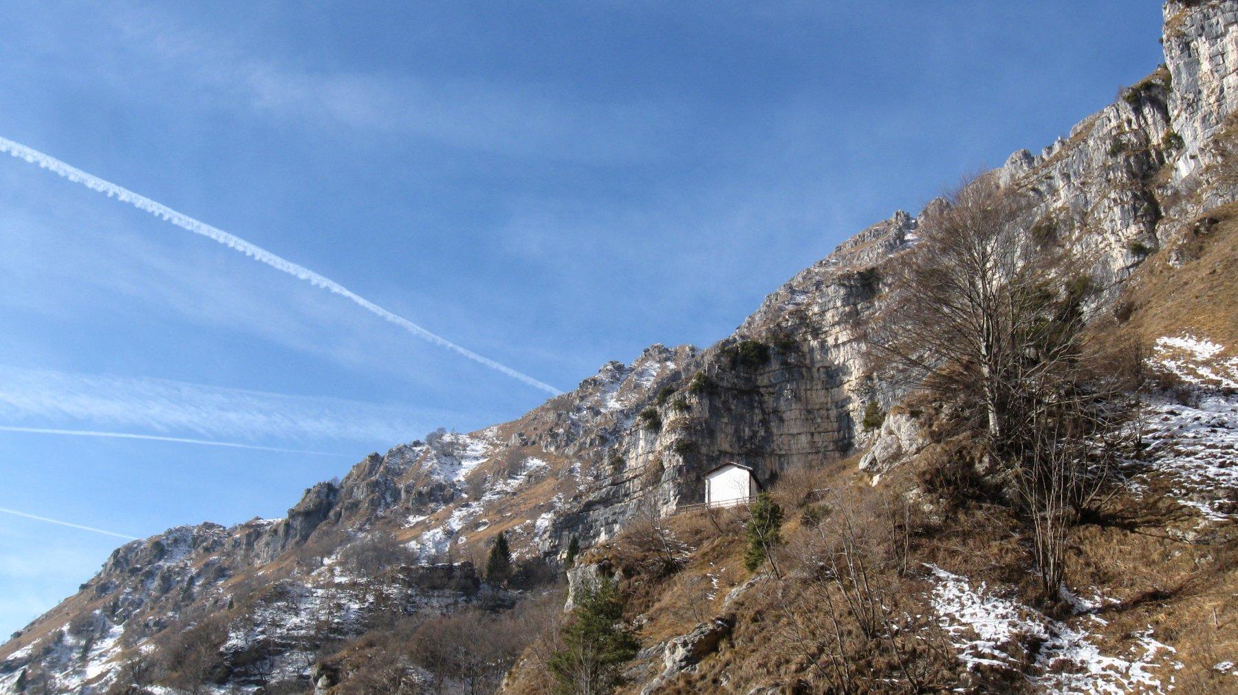 in vista della chiesetta di San Mauro