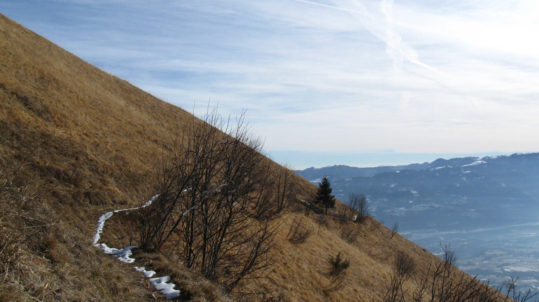 Forcella San Mauro - Monte Grave da Arson, traversata 2019-01-26