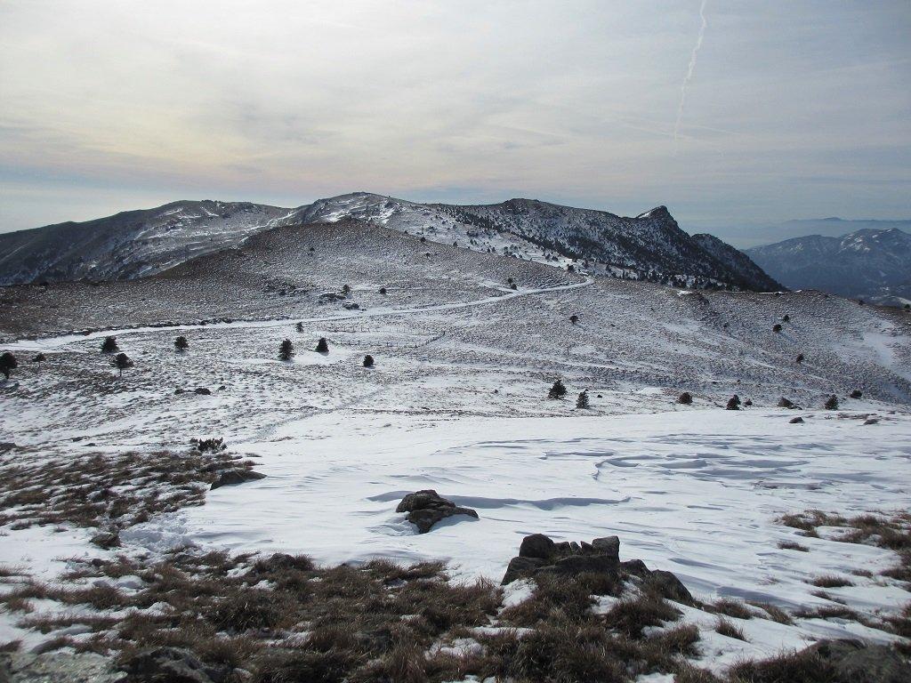 Martin (Punta) e Monte Penello dalla Colla di Prà, anello per la Punta del Corno 2019-01-26