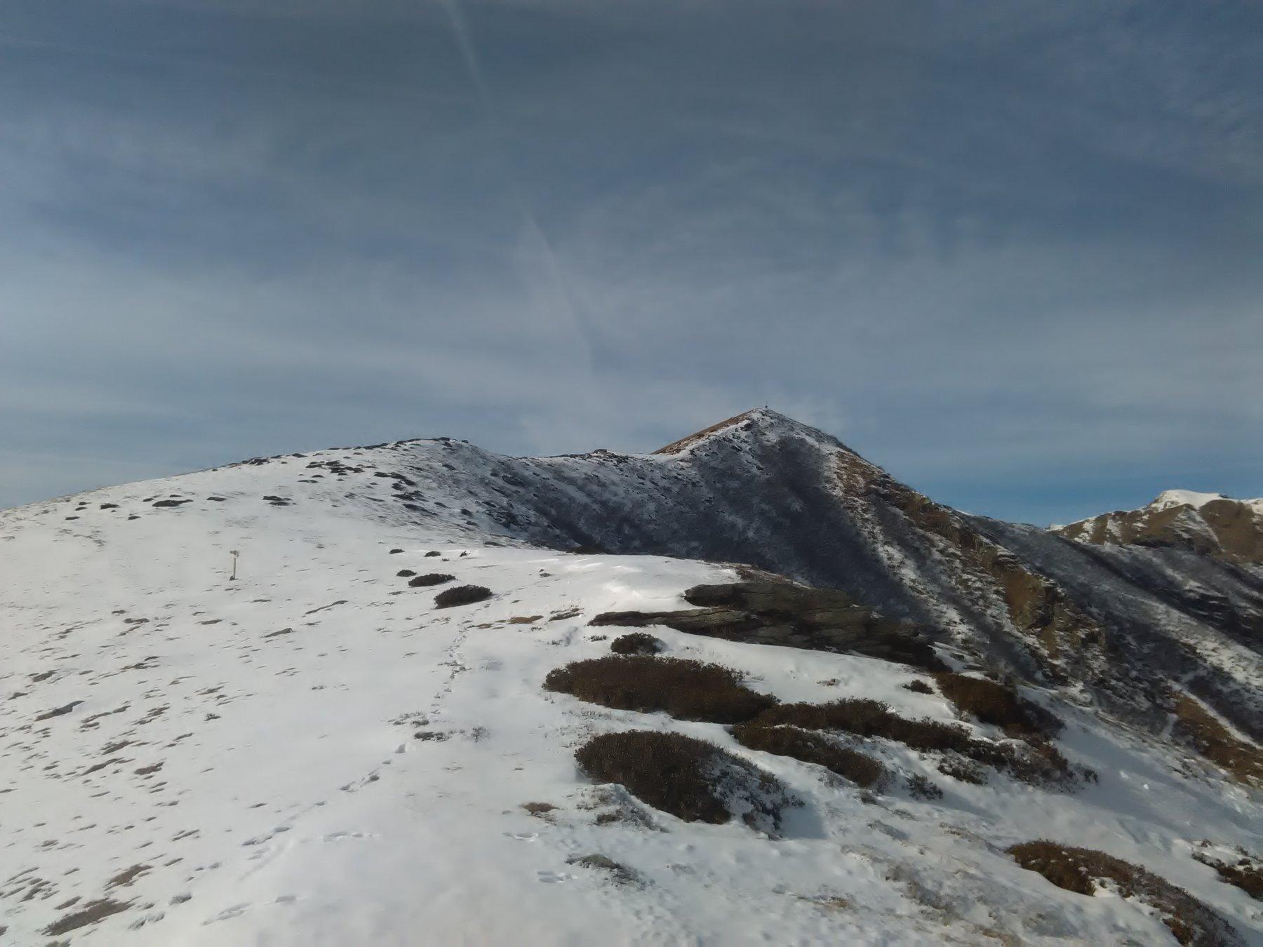 inizio della dorsale sopra alpe vandalino