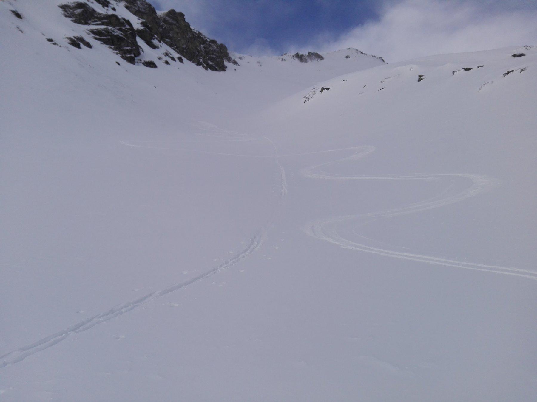 Canale a 2.450 metri