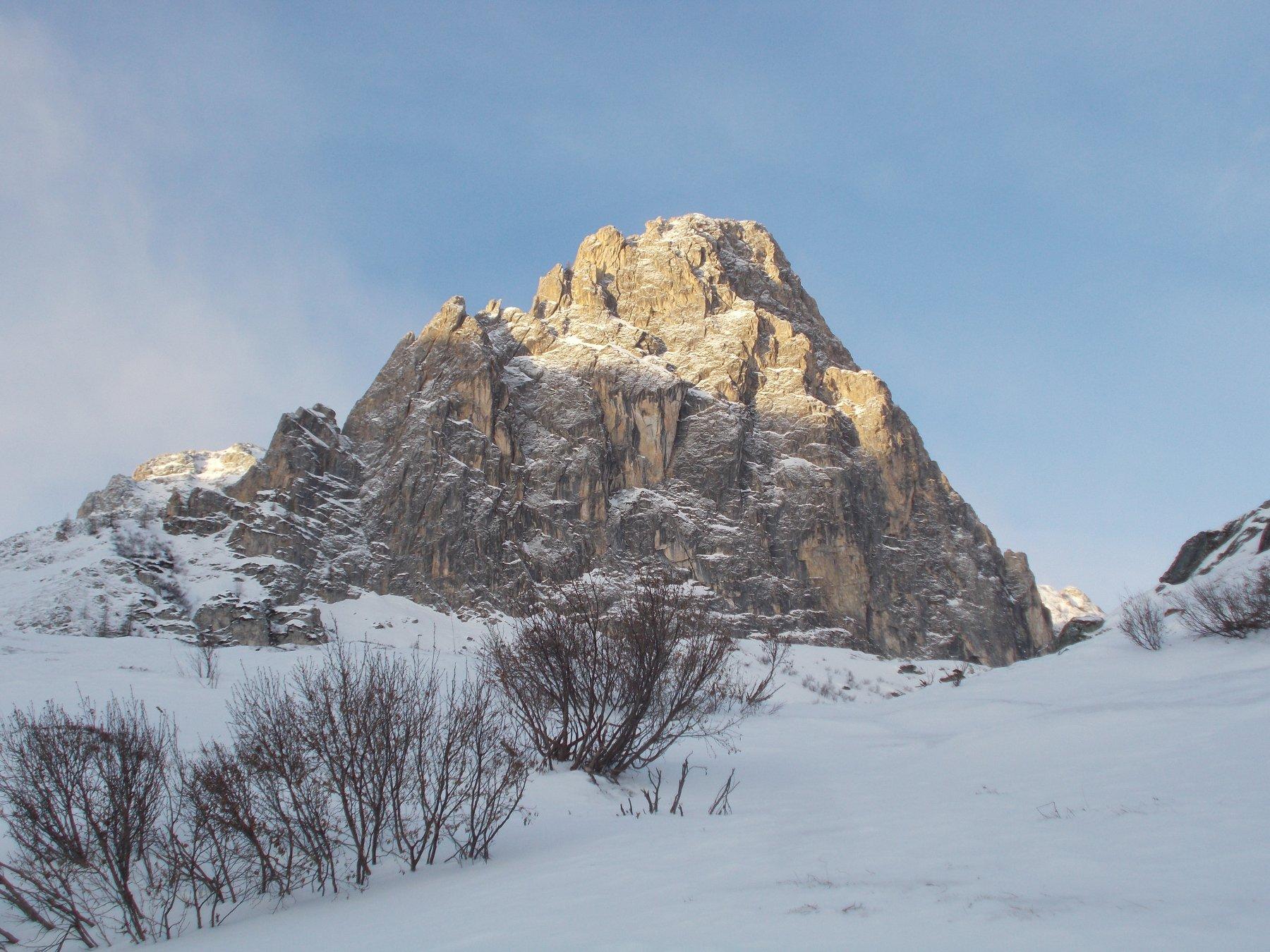 parete est della Rocca Parvo