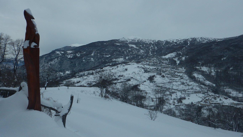 Vista da Pierremenaud
