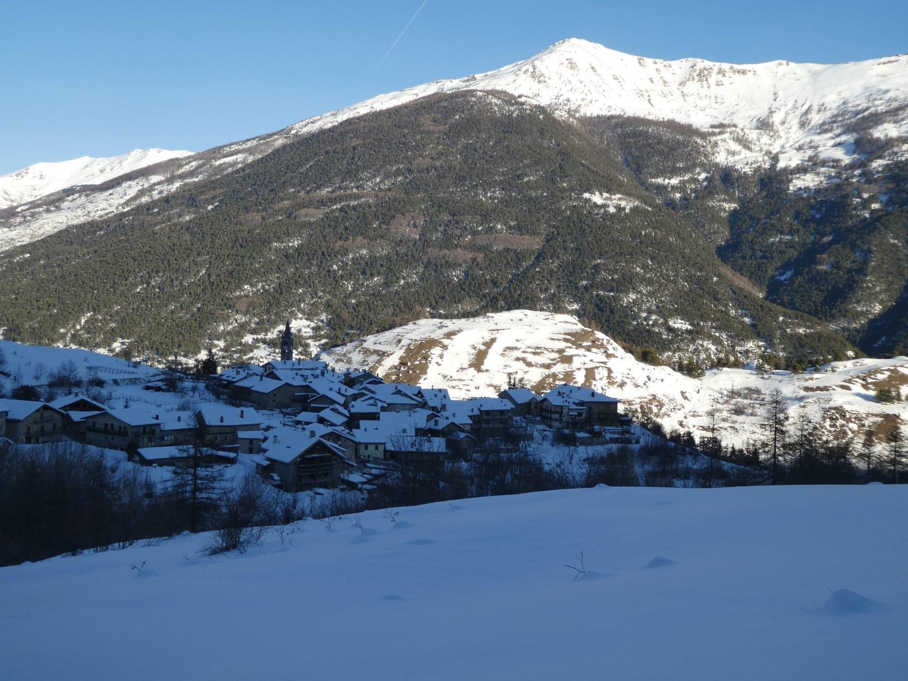 panorama su Chateaux Beaulard