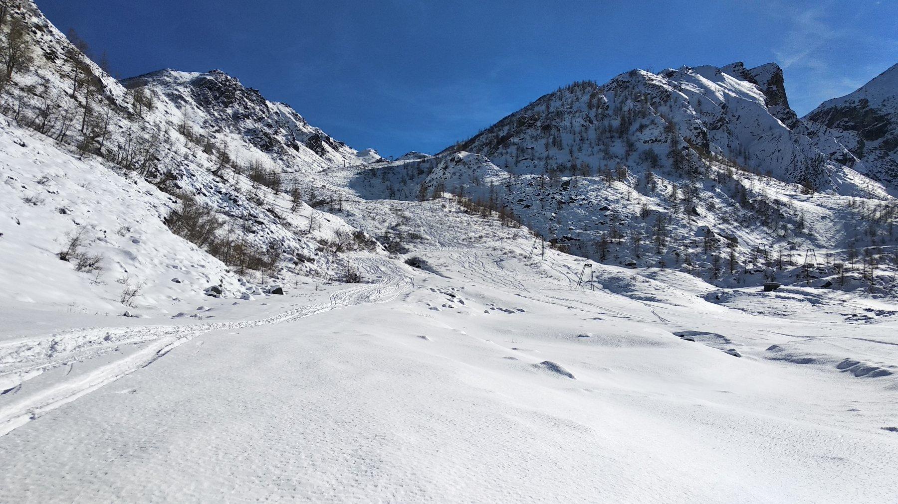 Valle di salita
