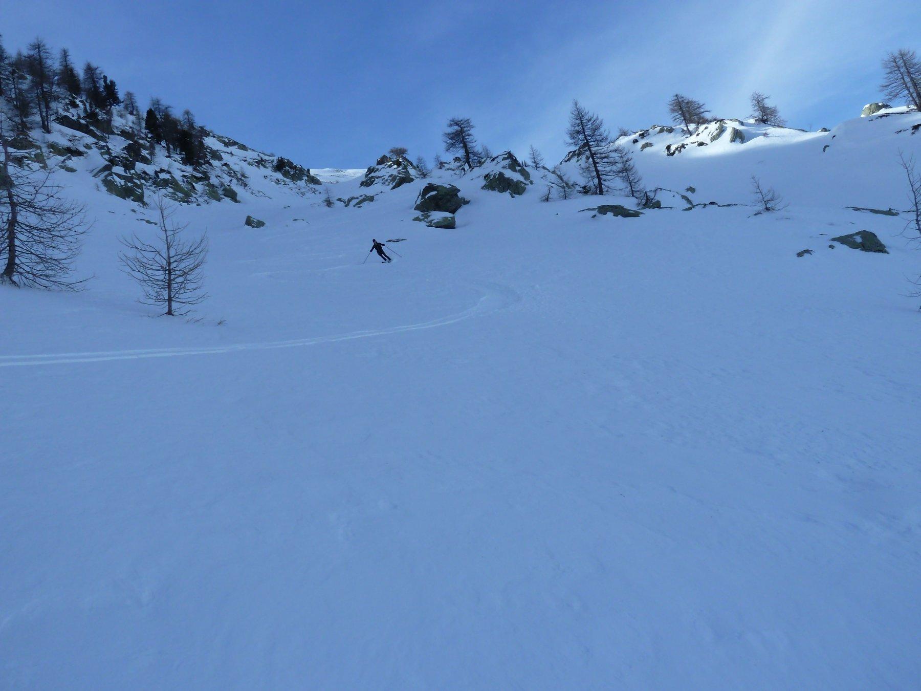 farinella nel vallone sotto la cima