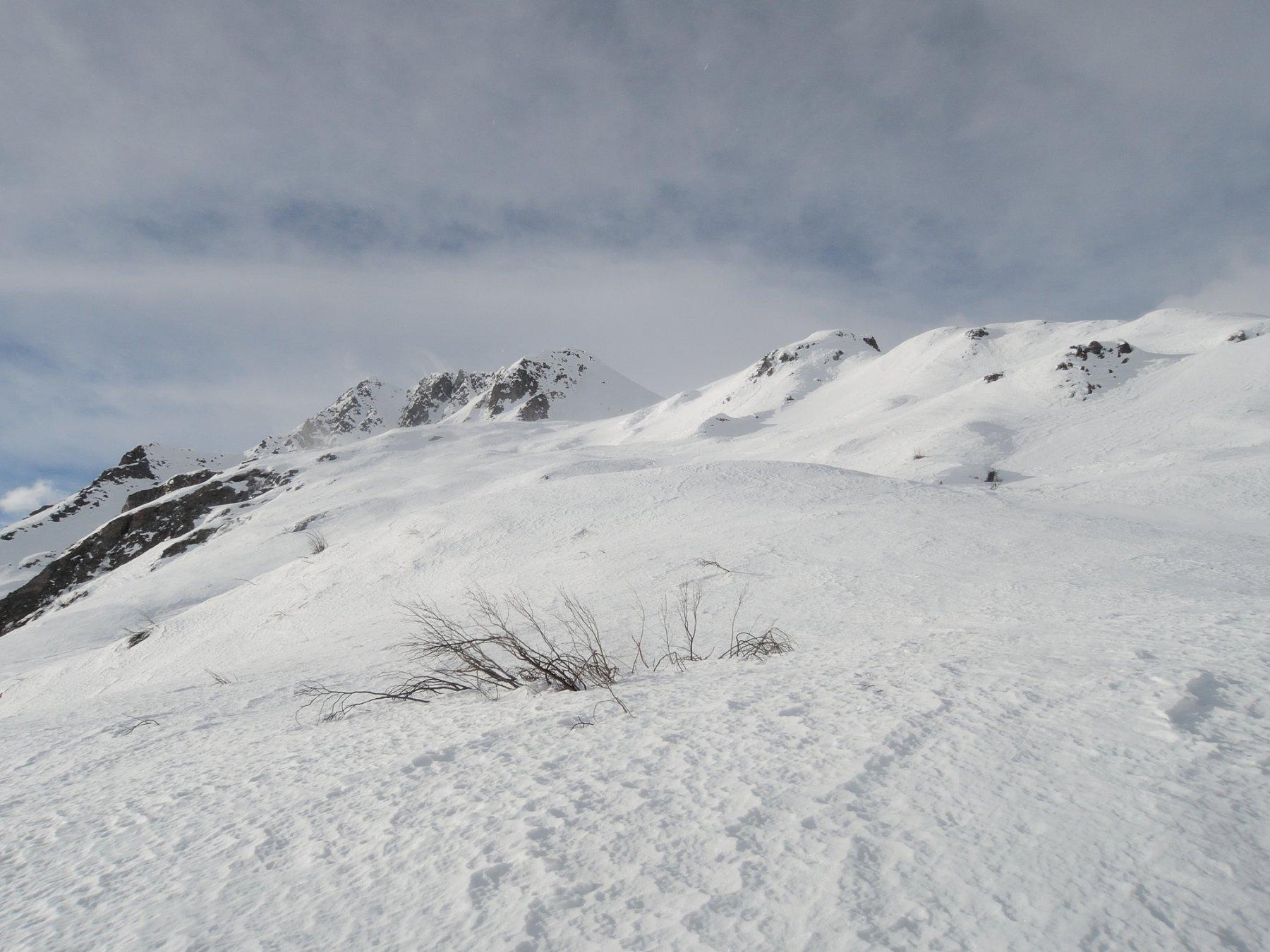 Pendii sopra l'Alpe Furculti