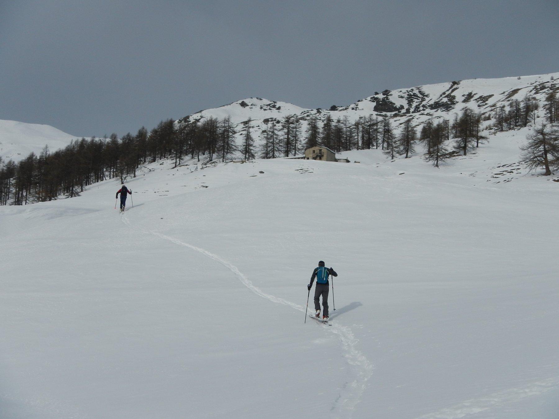 verso l'Alpe Bruns