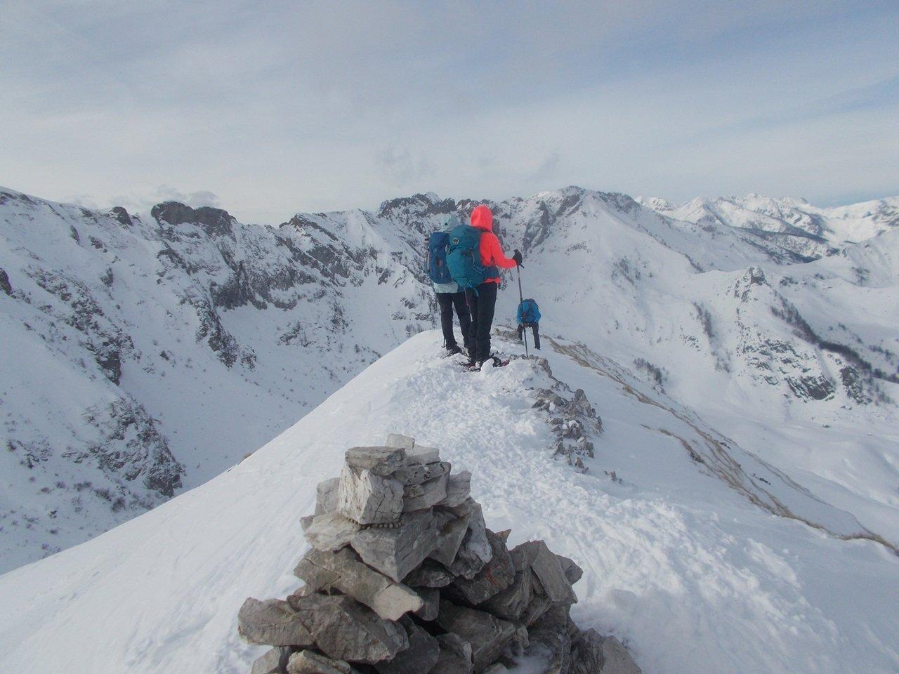 in cima al Monte Grosso