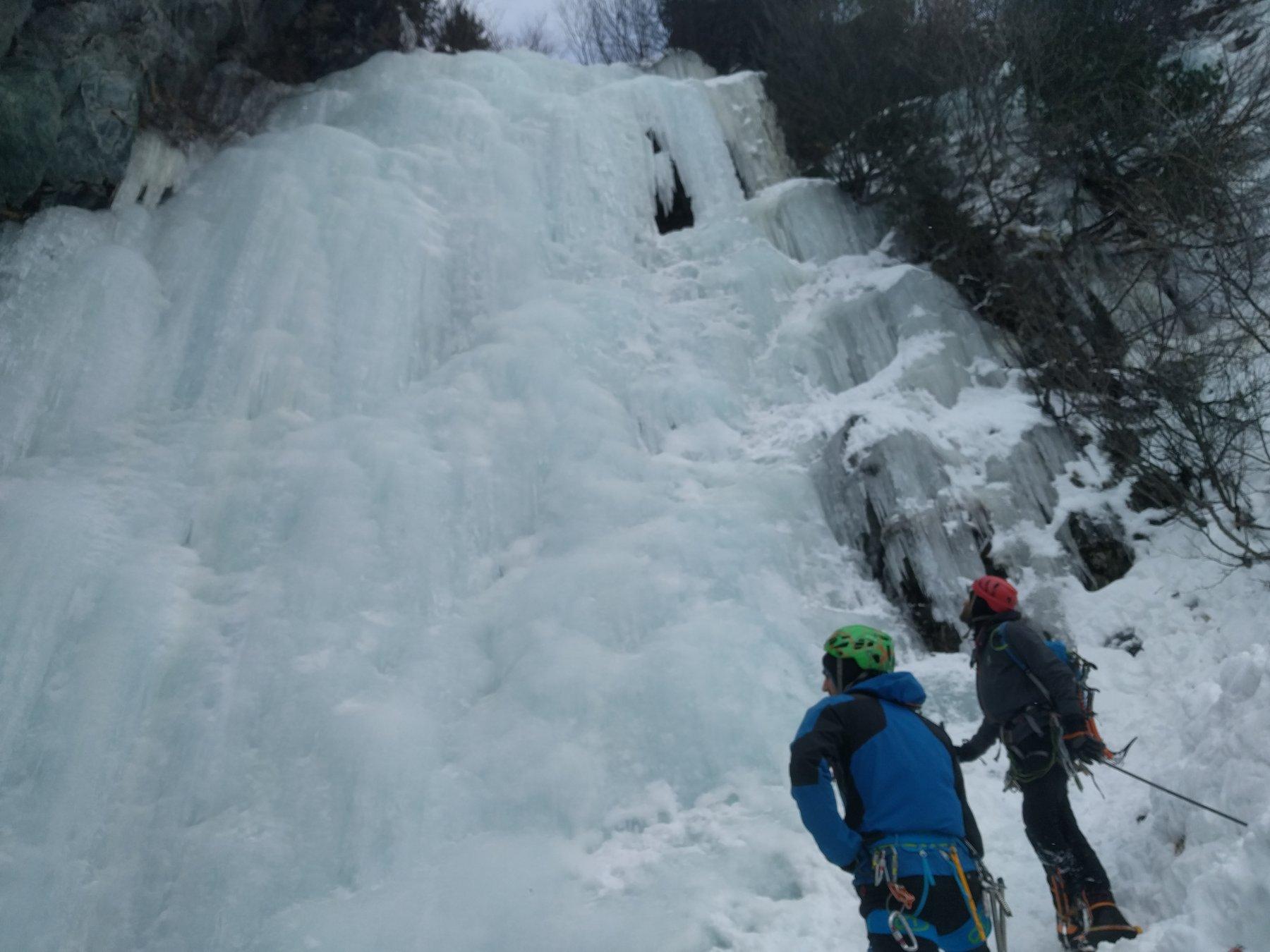Condizioni attuali della cascata