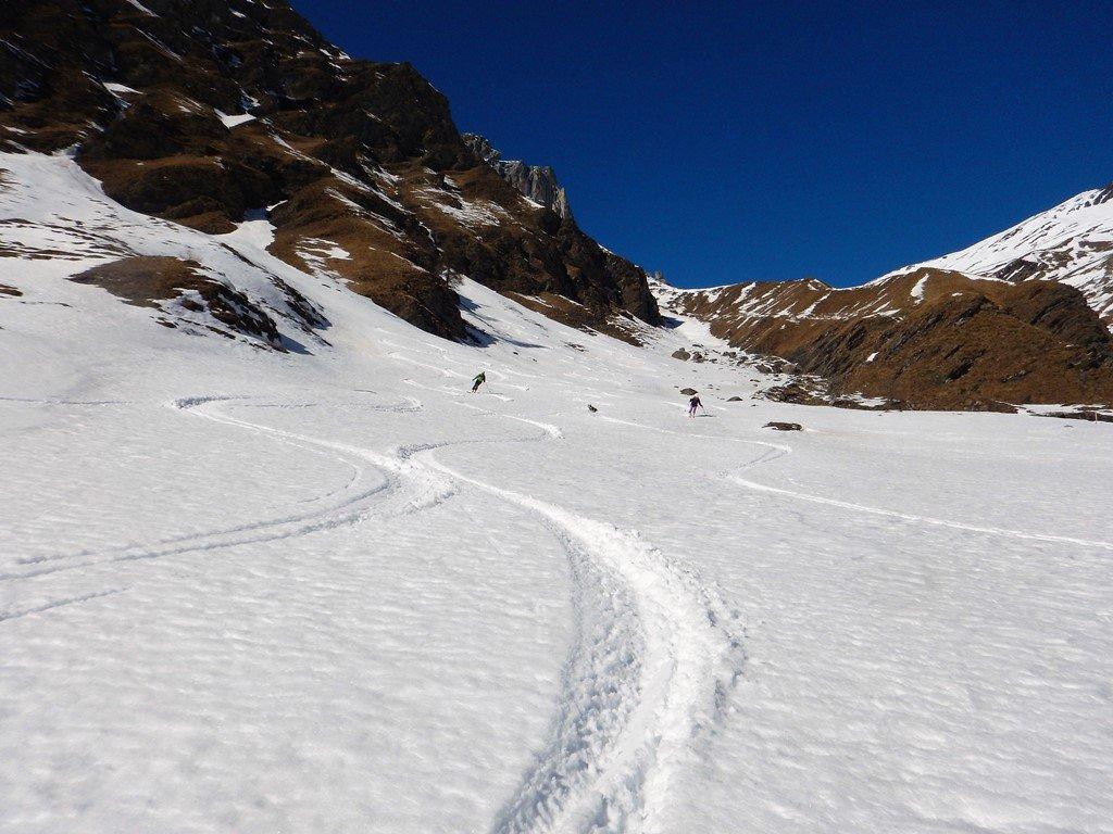 La neve migliore sopra Pian Vasserot