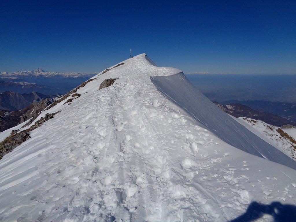 cresta verso la Rocca d'Orel