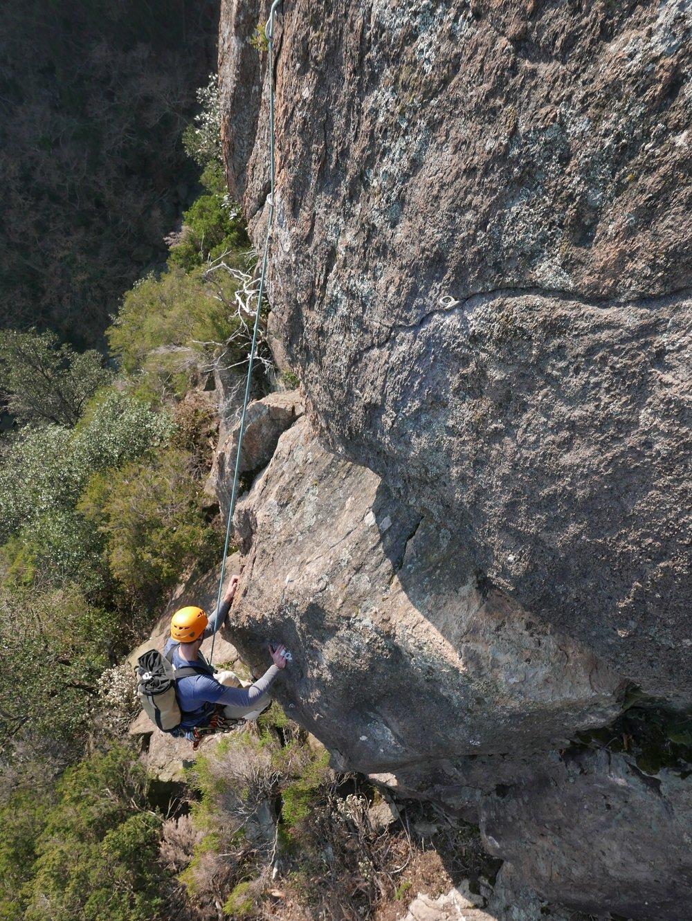 Castelnegro (Bric di) Cresta della Gava Lunghe Ombre 2019-02-16