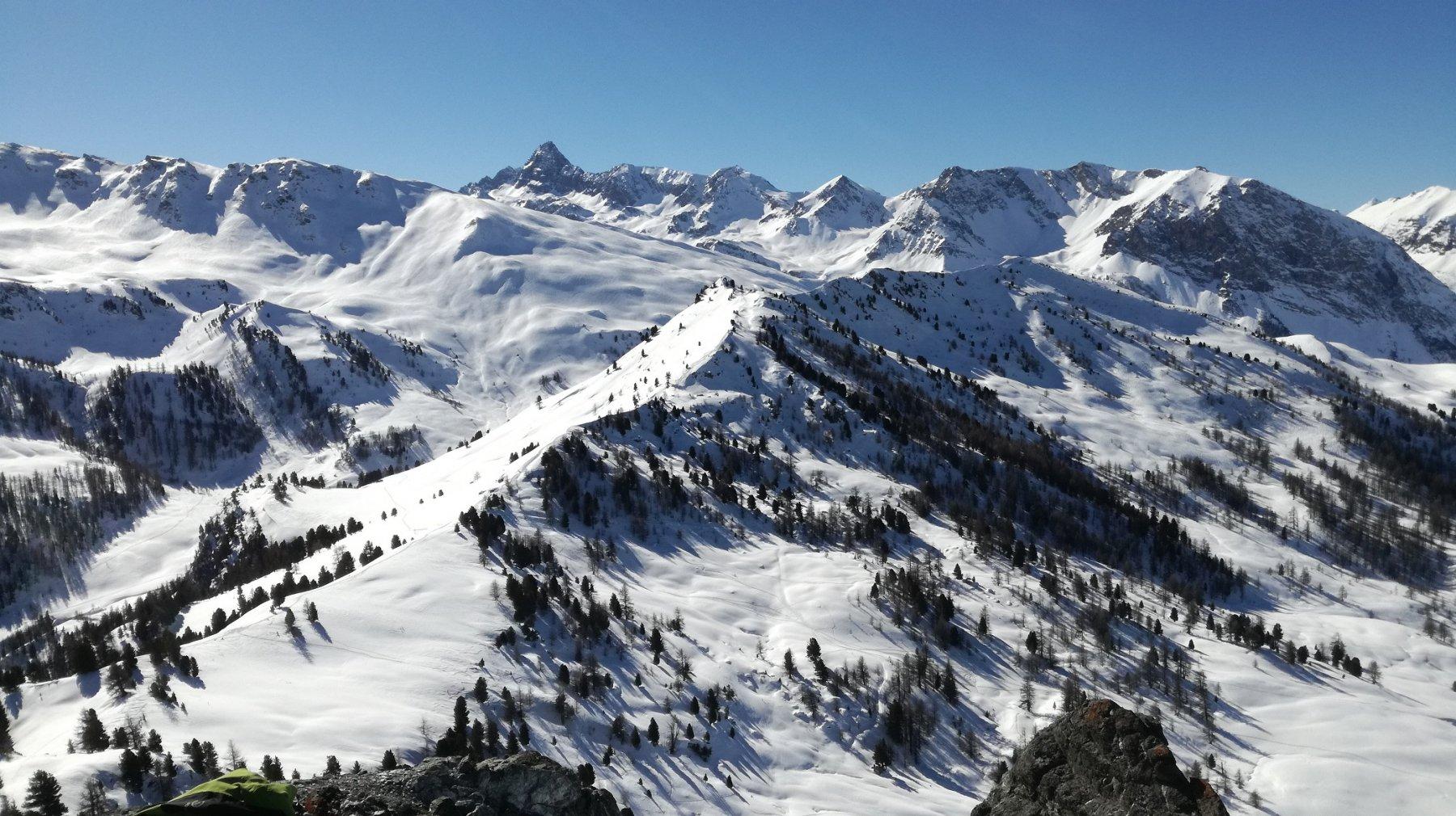 Monte Begino e Punta Fournier