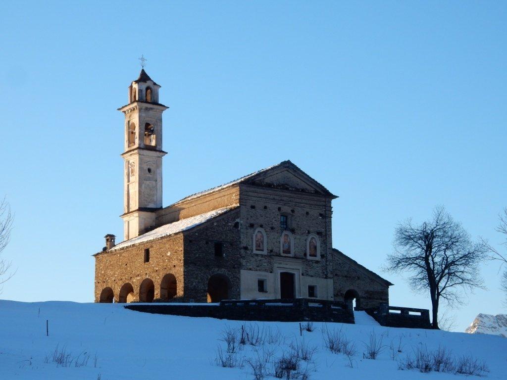 Santa Maria di Morinesio alle h 8,00
