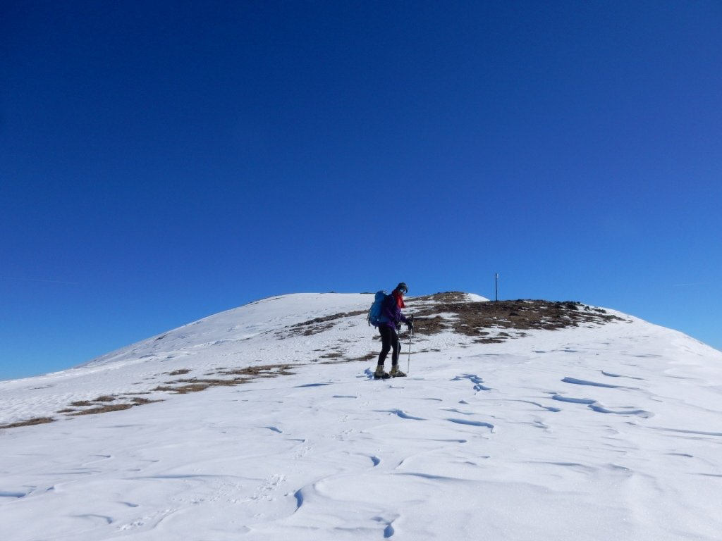verso la cima Cugulet