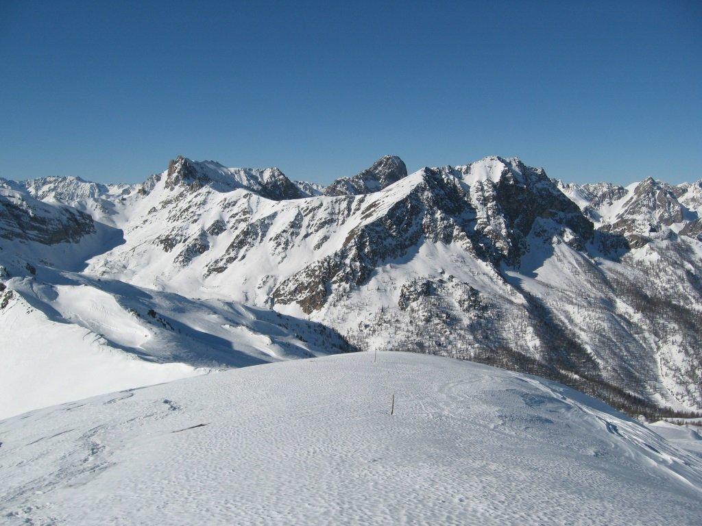 Panorama dalla  punta Sibolet