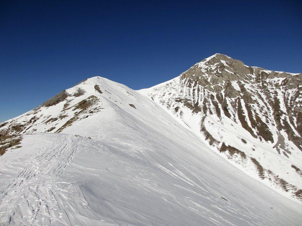 Il monte Pianard dal colle Garbella