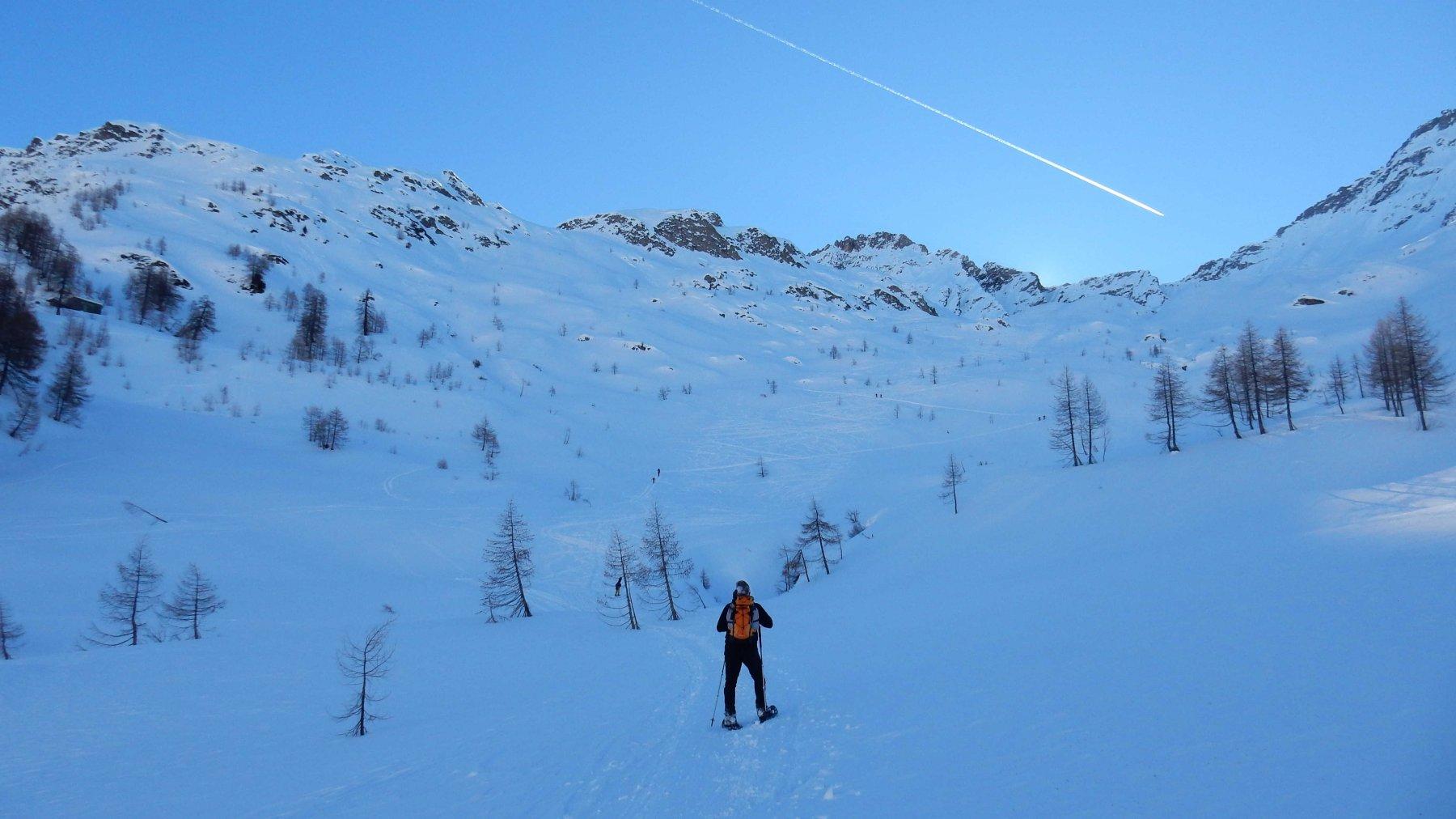 Sul primo tratto della Val Cavagnolo.