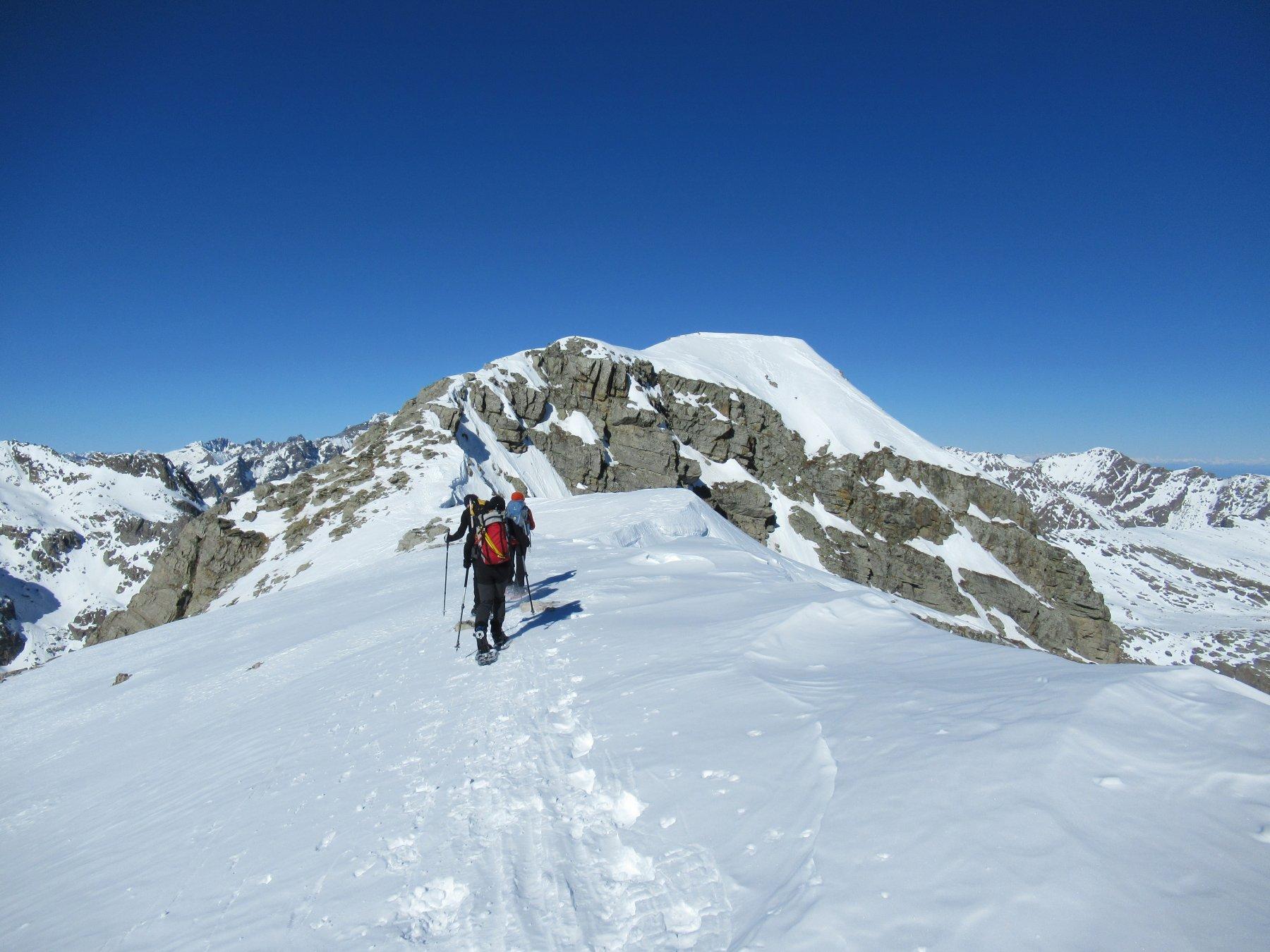 Il Monte Bego dall'Anticima.