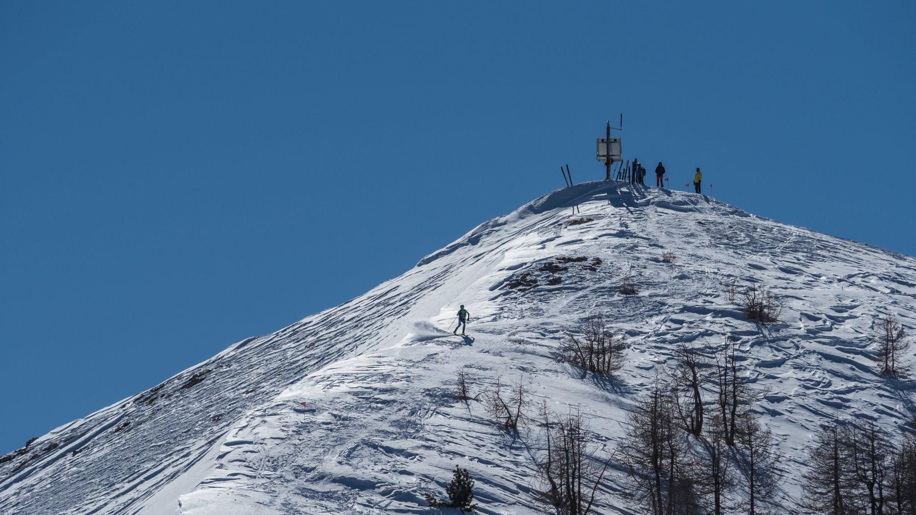 Partendo in Ski dalla vetta...