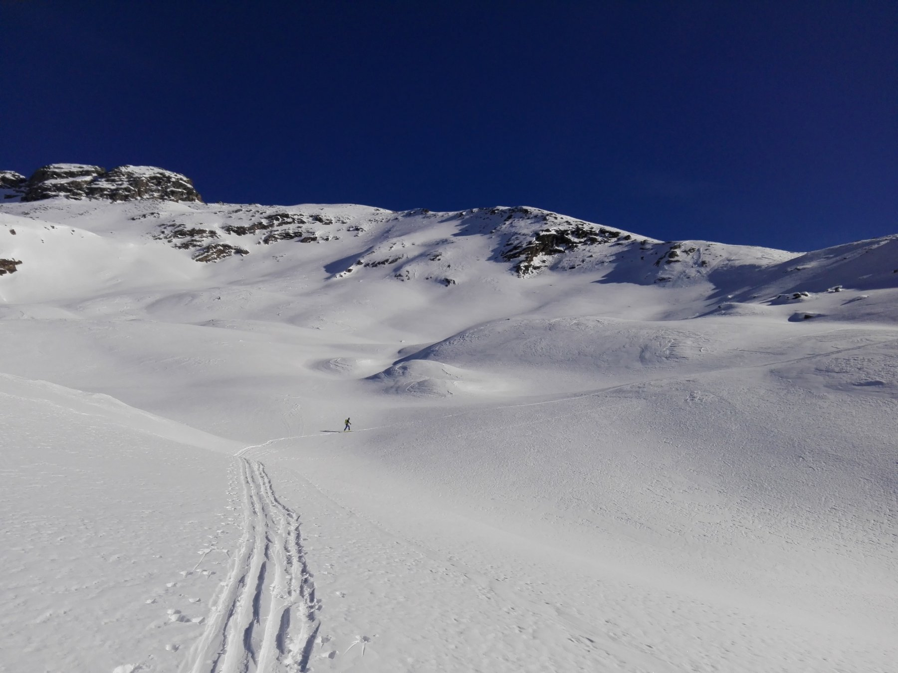 Entrelor (Testa di) da Bruil per il vallone di Sort e il Col Gollien 2019-02-18