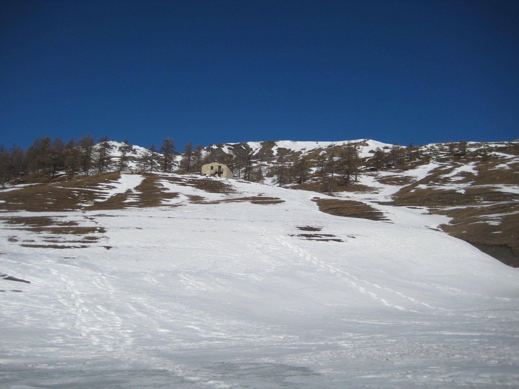 situazione desolante all'Alpe Bruns