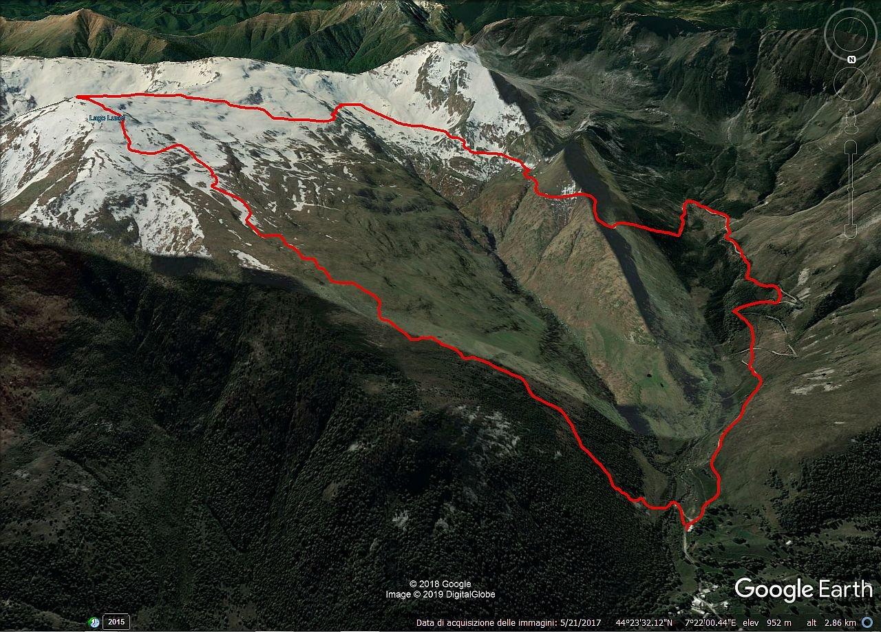 percorso ad anello per l' Alpe Tartarea
