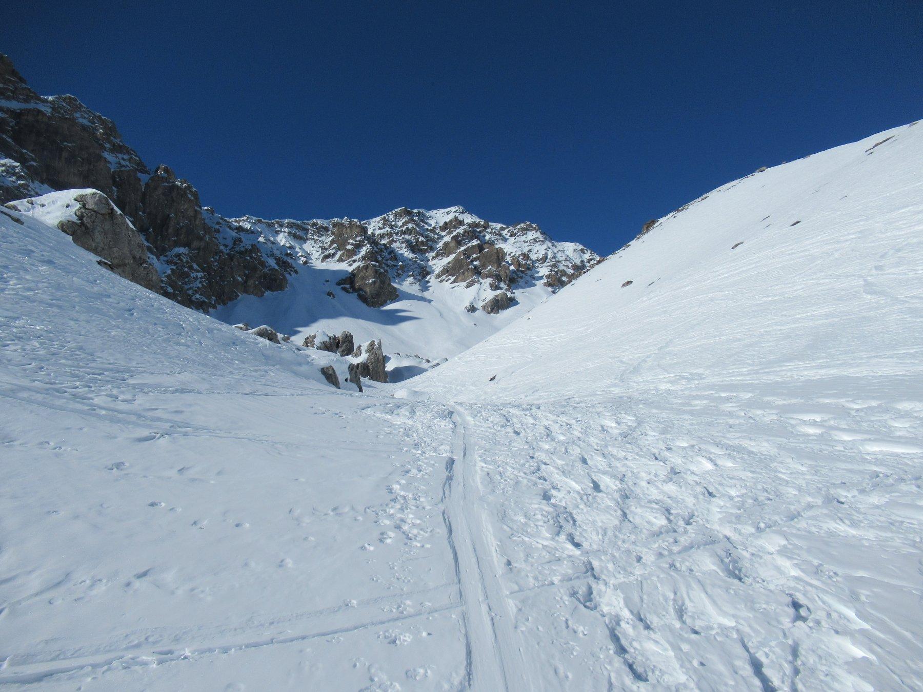 Monte Viraysse dal vallone superiore.