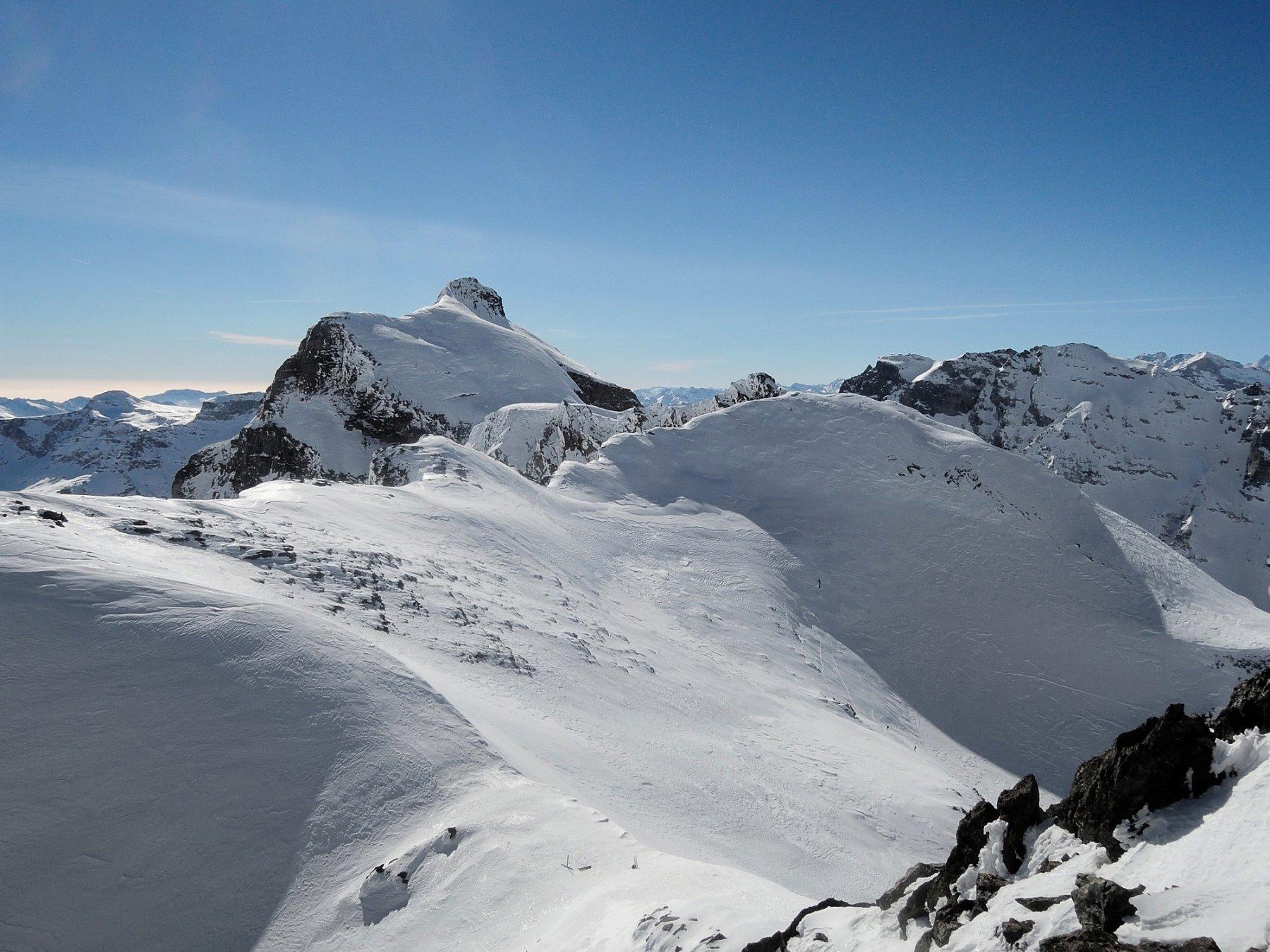 Cervandone visto dalla cima