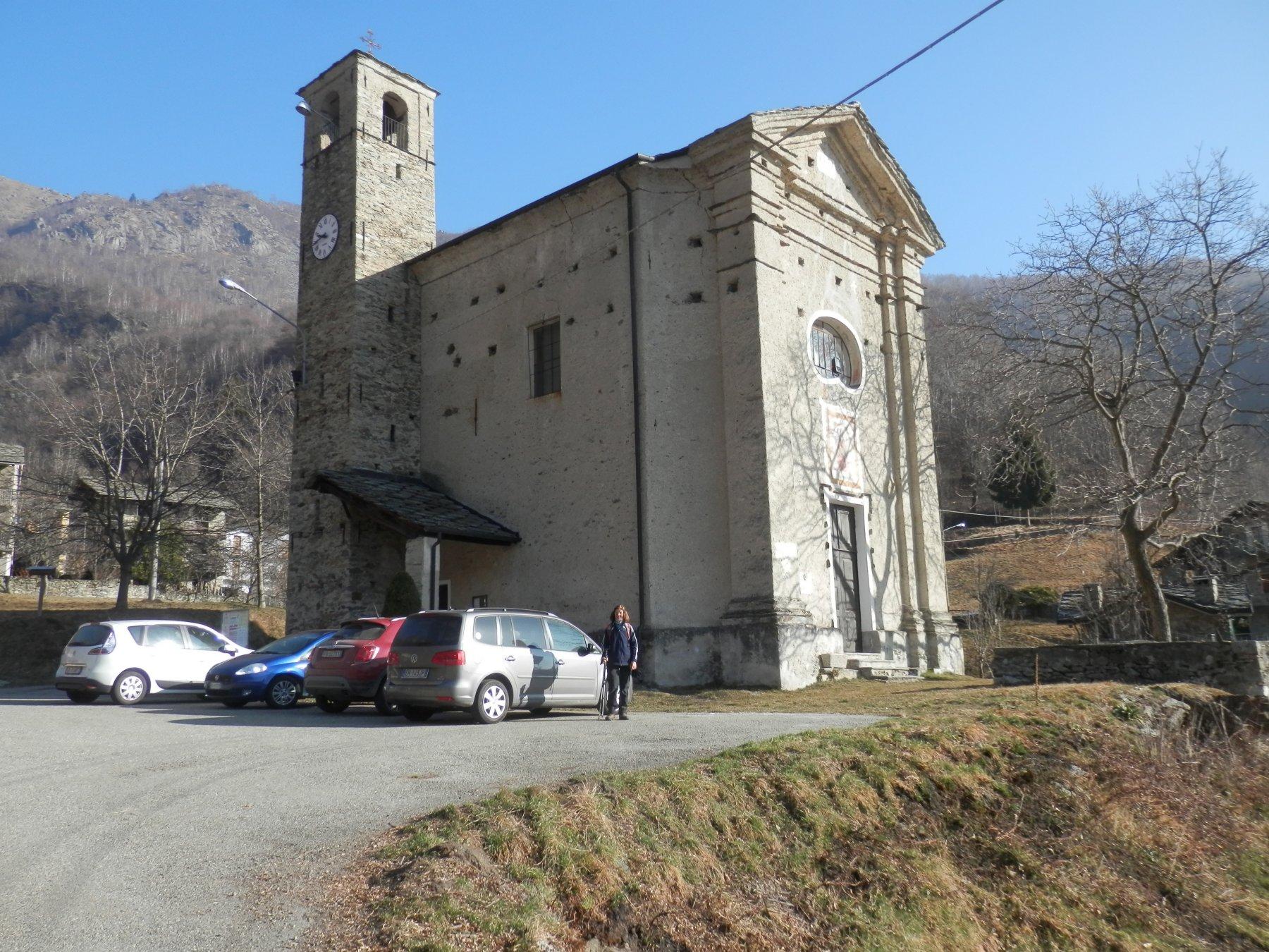 la chiesa di Frachiamo