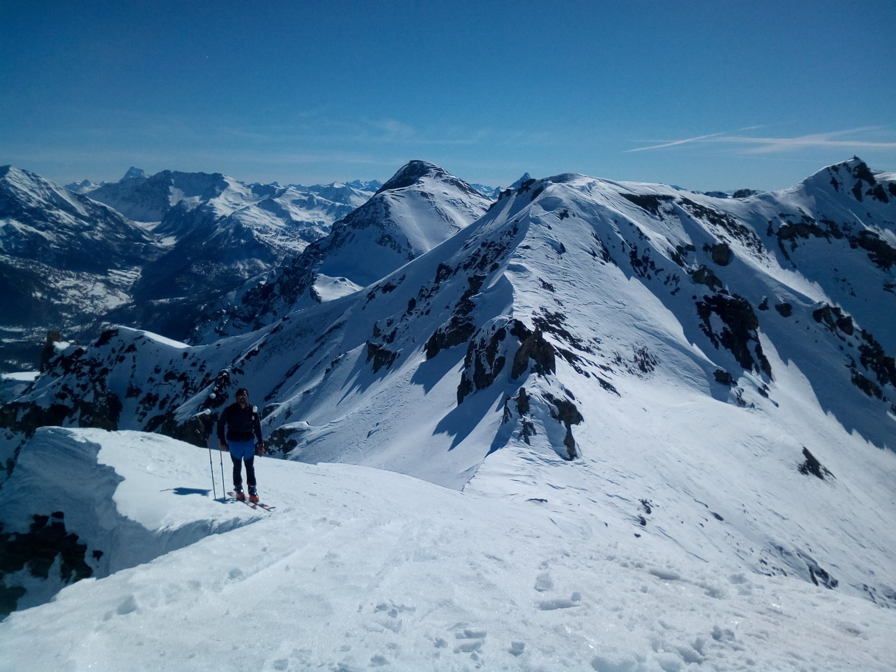 Chalanche Ronde (Punta di) da Pra Claud 2019-02-24