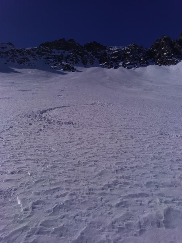 il conoide dopo la sciata