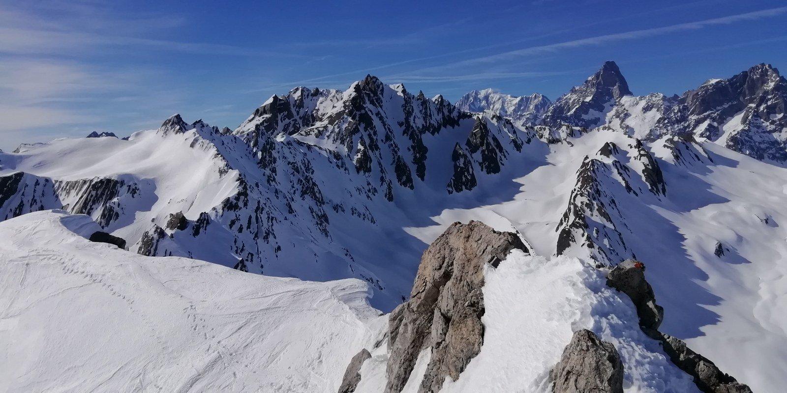 Gran panorama dalla cima