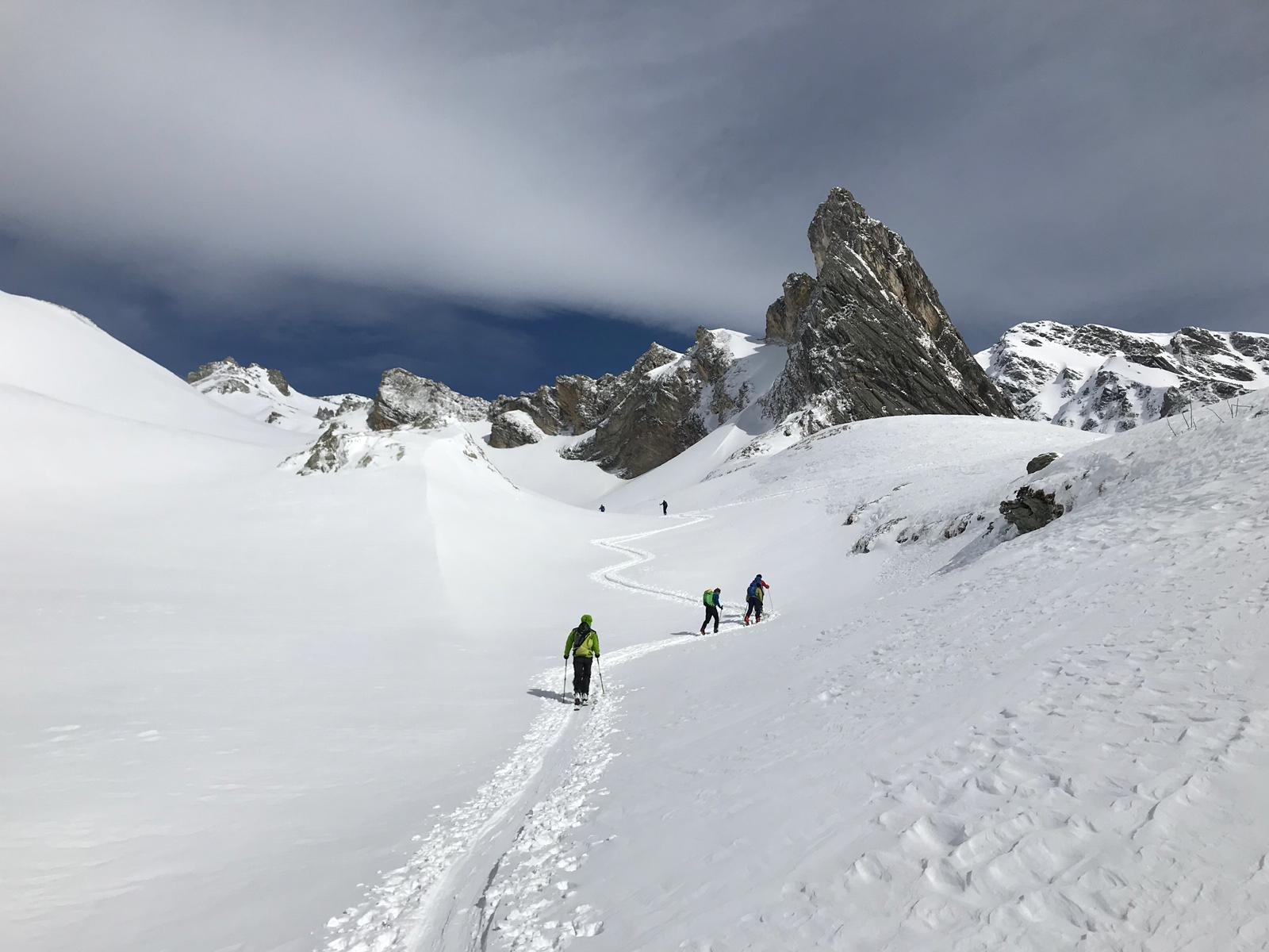 punta 2557 sopra Montagna Baus