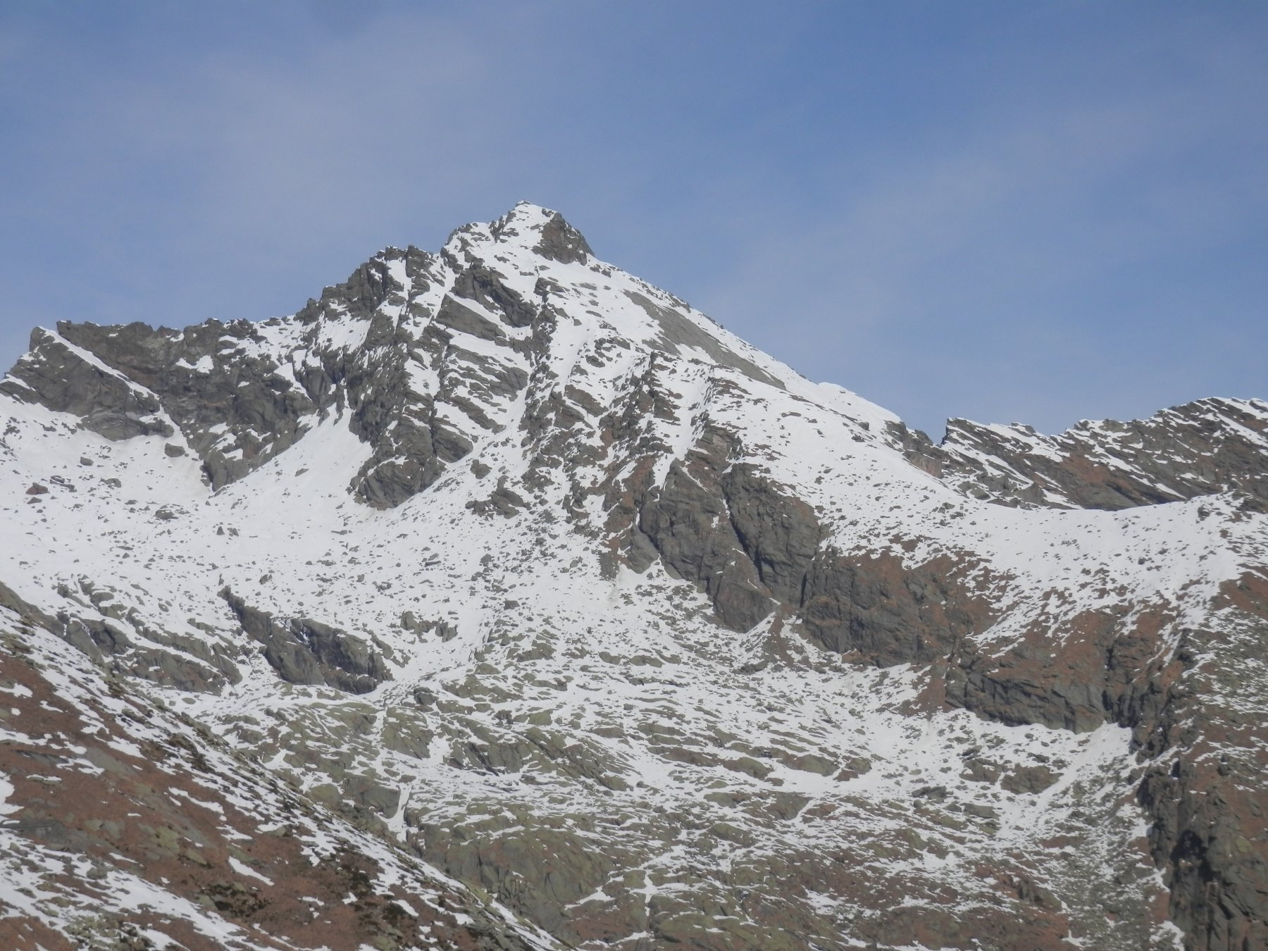 il vicino monte Colombo