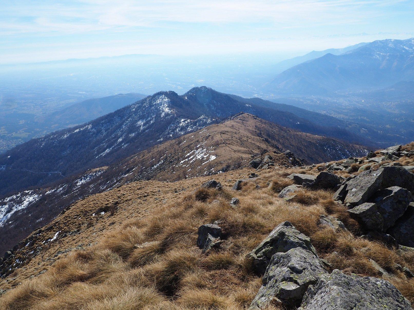 La dorsale vista da Rocca Turi (forse).