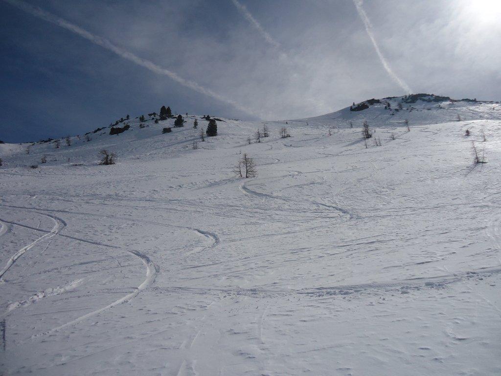 1° discesa lato Val Gimont