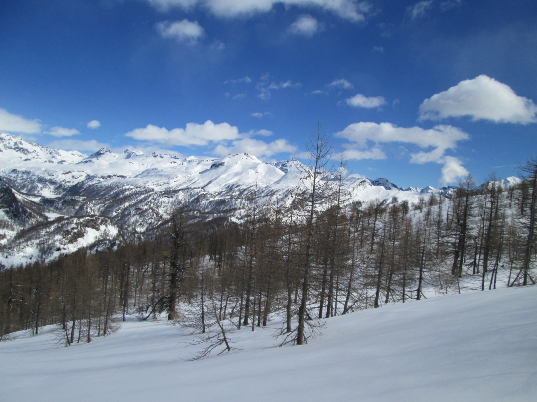 panoramica sulla valle