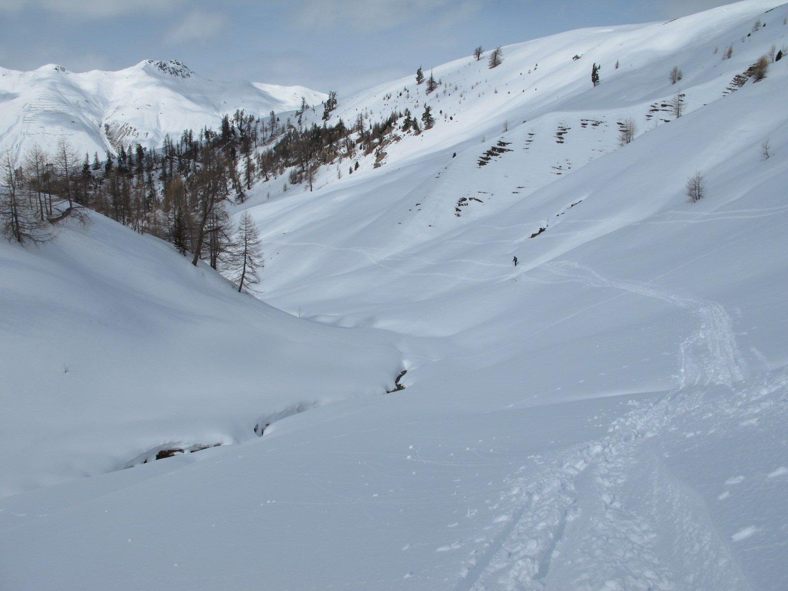 Traverso alla alpe Arpiglia
